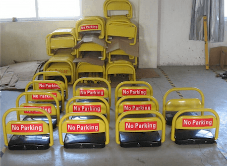 Parking Space saver via Aliexpress on casartblog