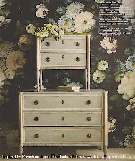 Frontgate_Floral wallpaper_casartblog