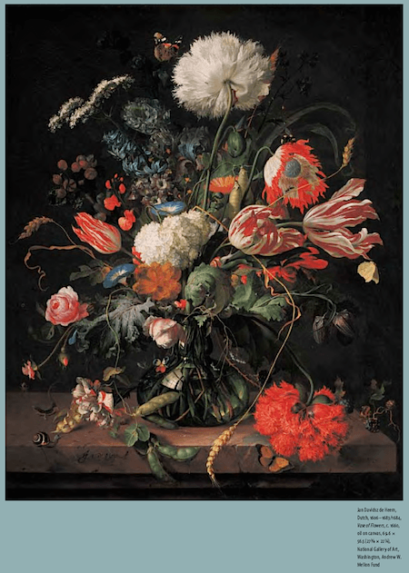 Vase of Flowers by Jan Davidsz de Heem via Painting in the Dutch Golden Age_casartblog