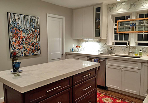 Casart coverings features Dolly Howarth Kitchen - After_casartblog