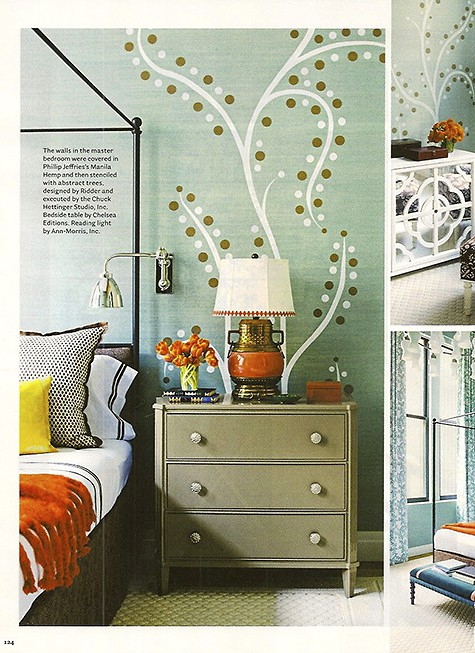 Katie Ridder interior design personalizes wallpaper_casartblog