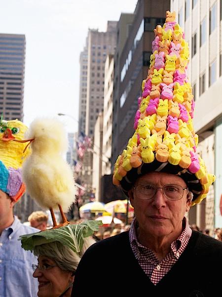 Easter Bunny Peep hat_casartblog
