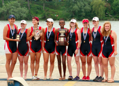 TC Williams Varsity Eight Medals in Championship