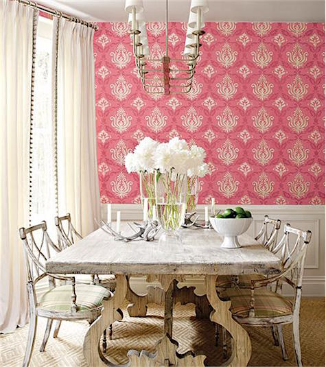 Casart Coverings shows A traditional style wallpaper with punch_casartblog