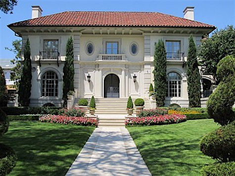 Mansion real estate listing on Slipcovers for your walls, casartblog