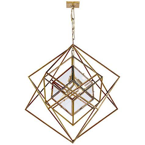 Kelly Wearstler cubist chandelier_casartblog