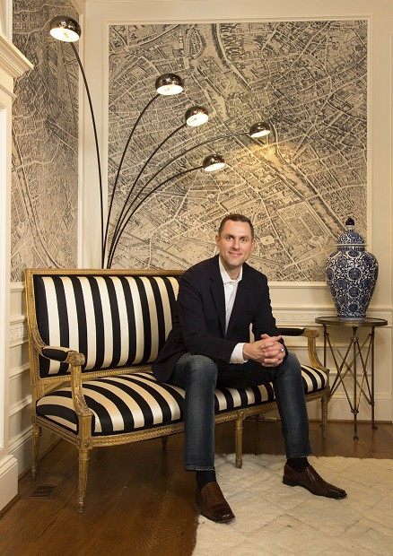 Jonathan Senner in DC Design House Room on casartblog