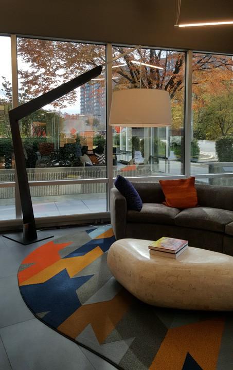 e-lofts lobby sofa & rug_casartblog