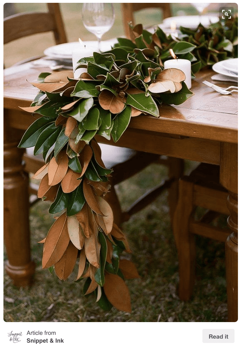 DIY Magnolia Garland_casartblog
