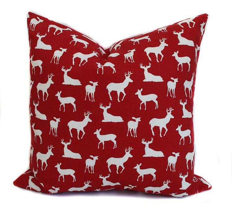 Etsy reindeer pillow cover_casartblog