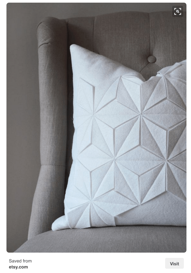 Felt Geometric Pillow_from Etsy on Pinterest_casartblog