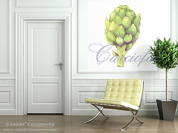 Artichoke Casart Coverings temporary wallpaper_casartblog