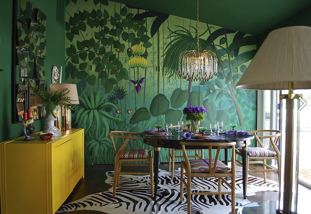 Molly Luetkemeyer interior design mural_casartblog