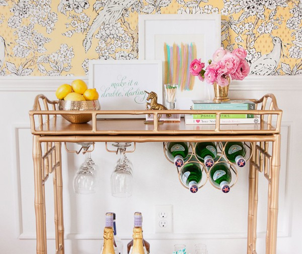brass-accent-bar-cart via decoist_casartblog