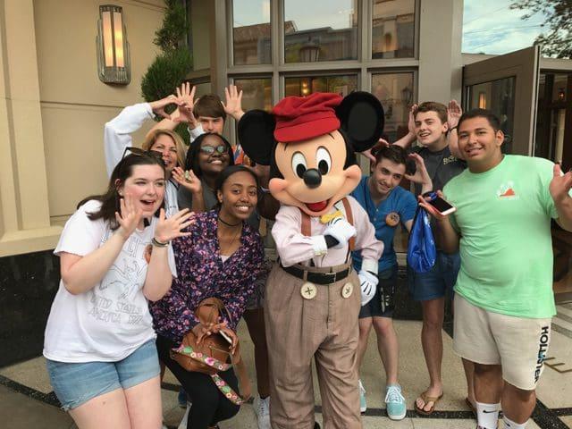 Disneyland for DECA Day