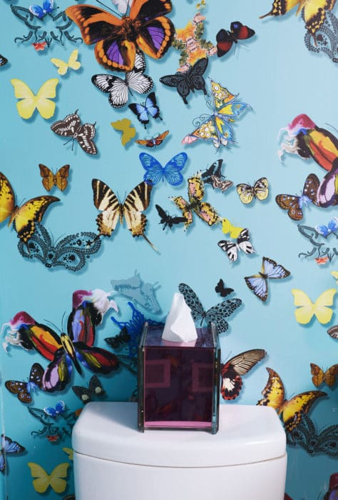 Sasha Bikoff Butterfly Wallpaper on casartblog