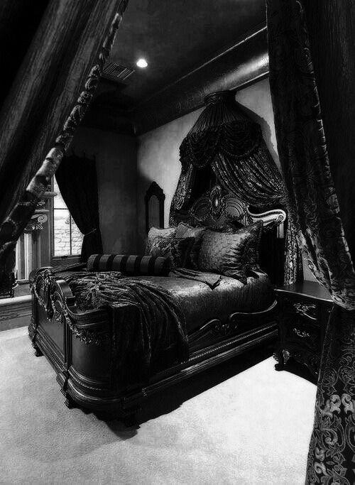 Black On Black Room, dark