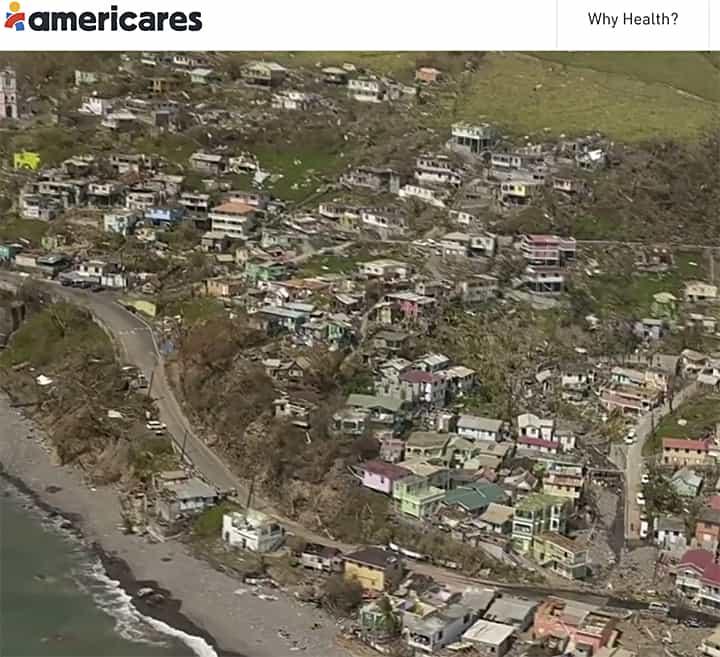 Hurricane destruction on casartblog