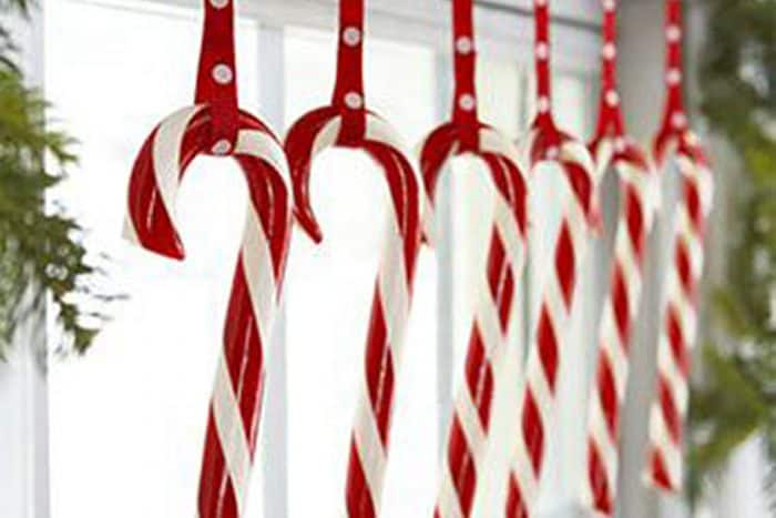 Candy Cane holiday decor_casartblog