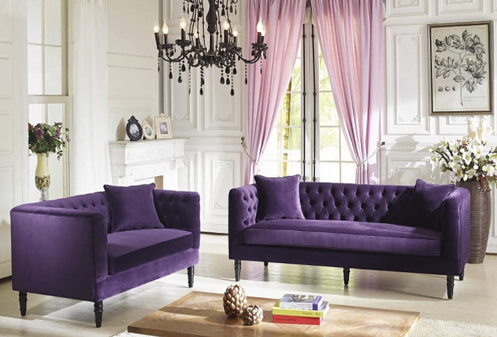 purple sofa image_via refinery on casartblog