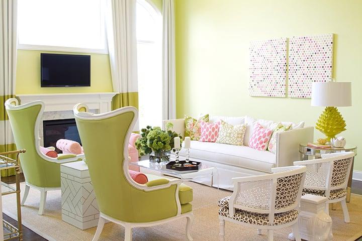Apple green and pink_casartblog