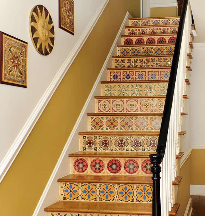 Sandra Dykes_interior stairs_casartblog