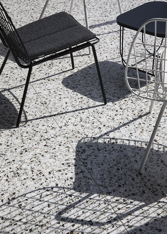 Terrazzo floor. Photo by Jean Philippe Delberghe_2019 decor trends_casartblog