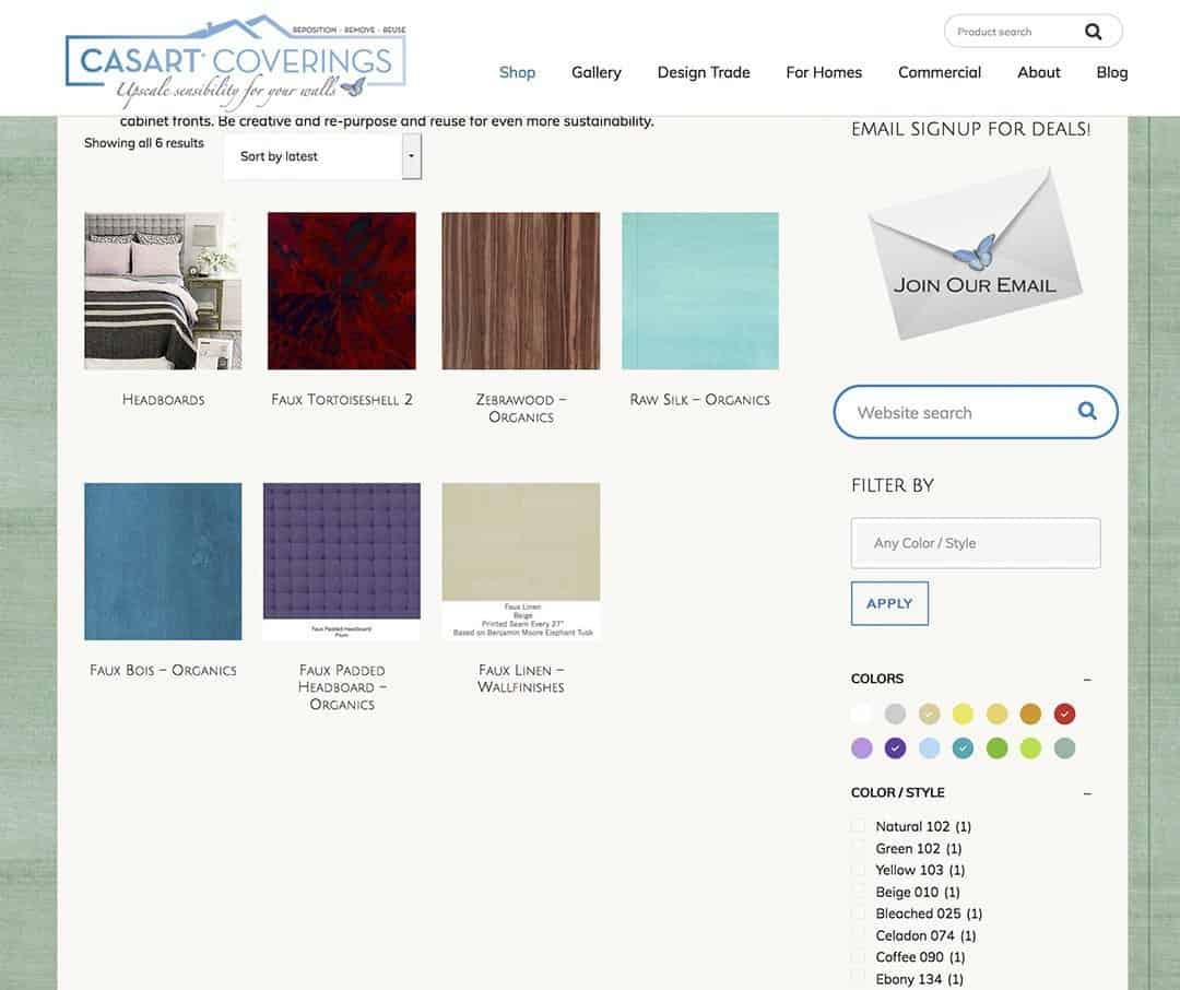 Casart Color Circle Search_Any Style Color Filter_casartblog