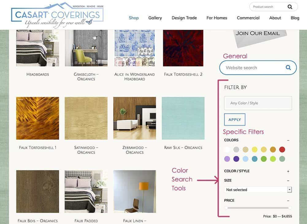 Casart Coverings Color Search Tools_casartblog