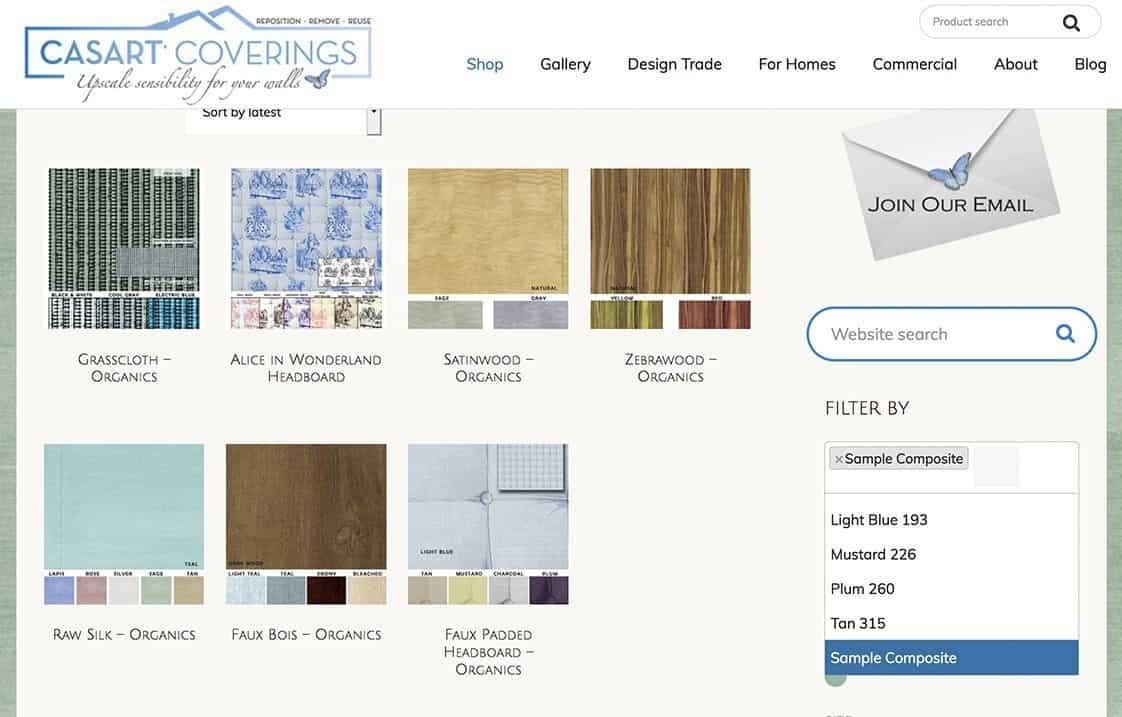 Casart Coverings Filter by Color style_casartblog