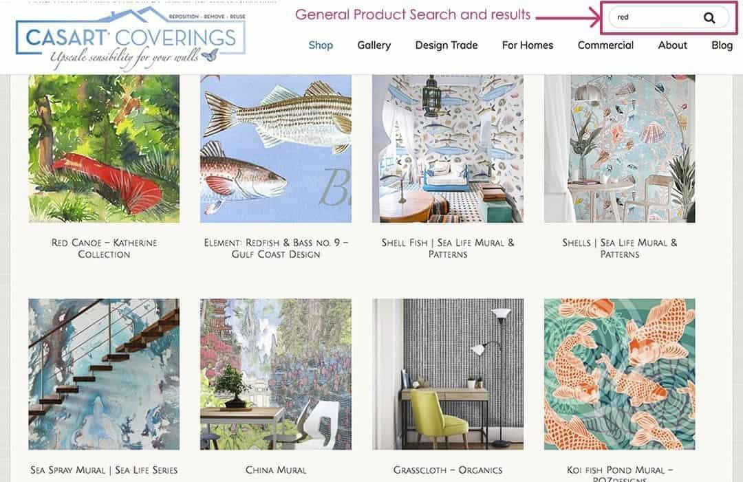 Casart Coverings General Product website search_casartblog