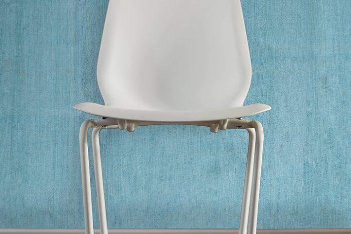 Casart Coverings Teal Faux Bois removable wallpaper_chair_casartblog