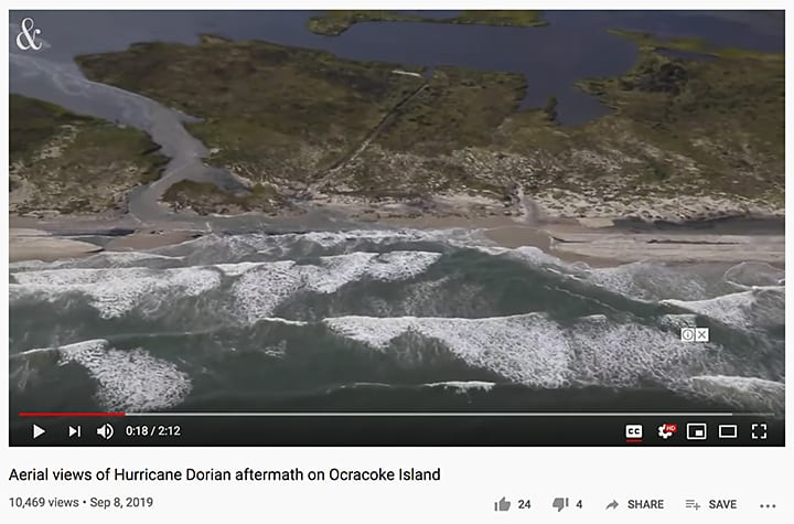 Sad Situation on Ocracoke Island via News & Observer_casartblog