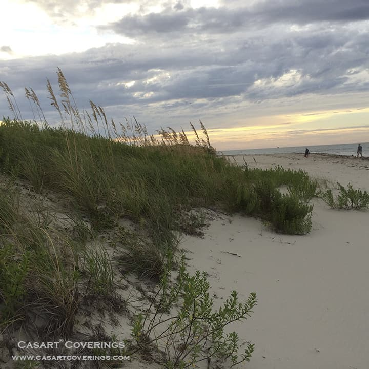 Ocracoke Beach at Sunset_casartblog