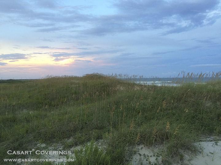 Ocracoke beach dunes dusk_casartblog