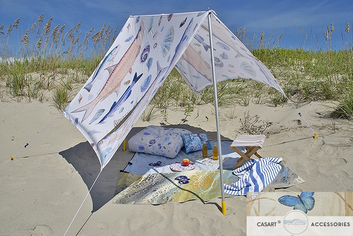 Casart Accessories S6 Beach Items_sun shade_pillow_yoga mat_folding stool_casartblog