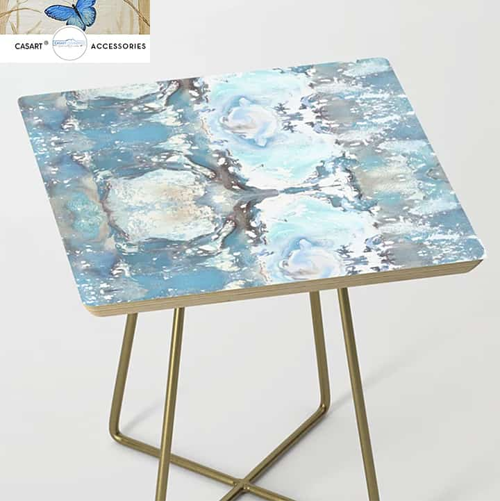 Casart Side Table Furniture Accessory in Sea Spray