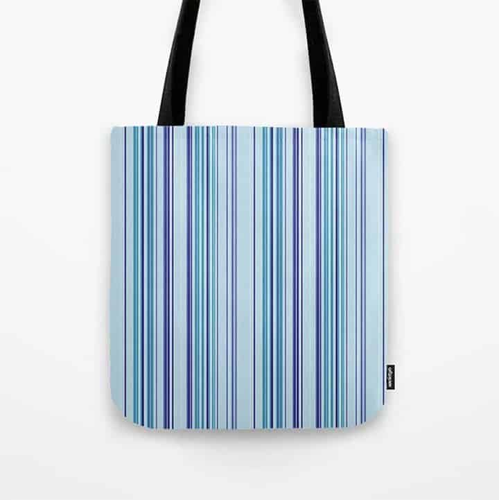 Casart Tote Bag Sky Stripes_Society6 Shop_casartblog