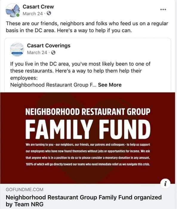 Neighborhood Restaurant Group fundraiser_casartblog