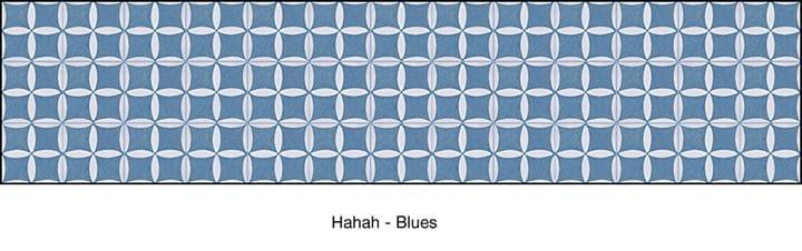 Casart removable wallpaper_HaHa blue pattern