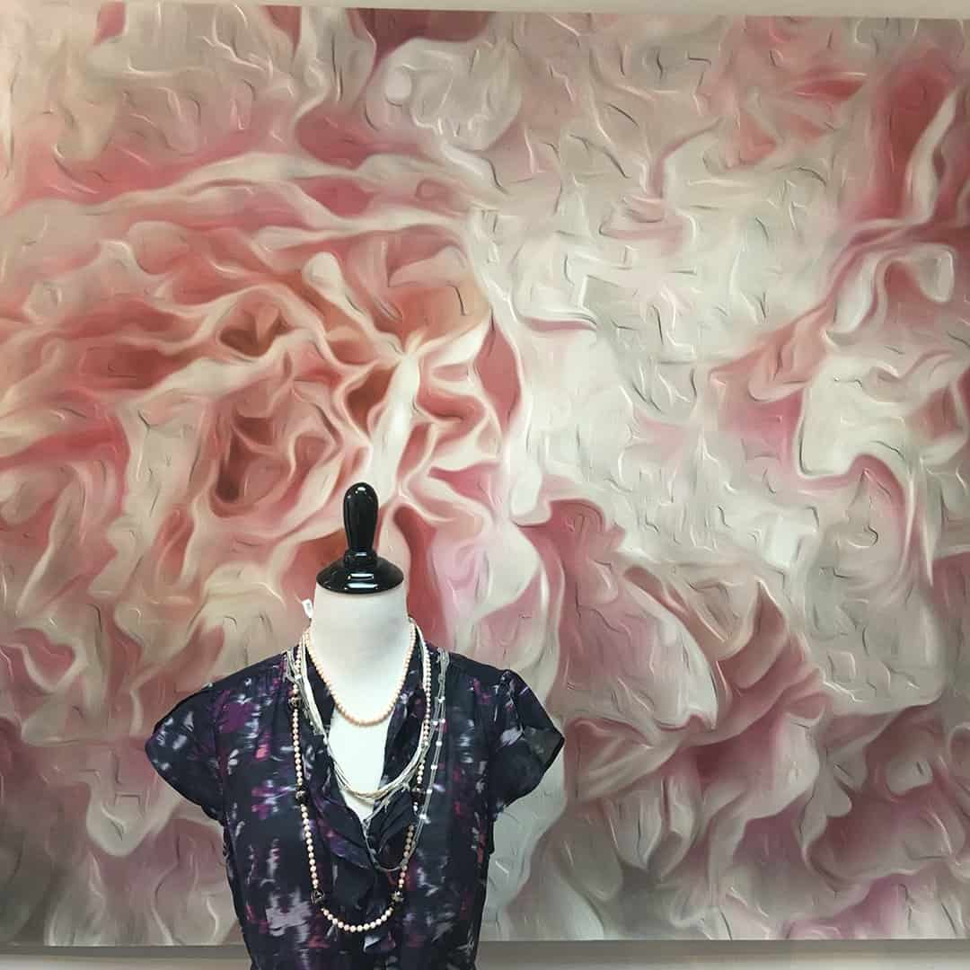 Casart White and Pink Peonies Backdrop Twist Boutique