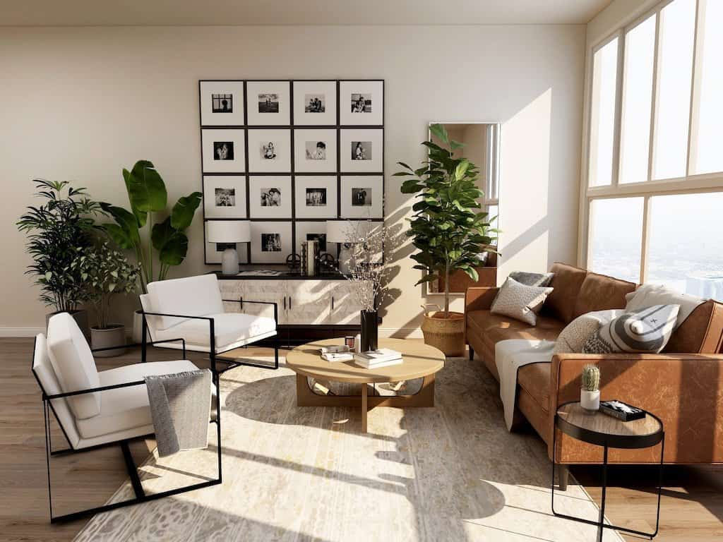 eye-catching living room with nature and wellbeing in mind_casartblog post by Chloe Taylor