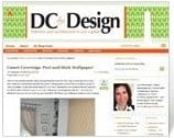 Casart coverings is featured on DC by Design blog