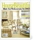 House Beautiful Casart coverings press featuring Drysdale Signature Colors