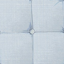 Casart coverings aux Padded Headboard Detail - Light Blue Organics
