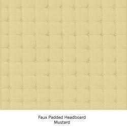 Casart Organics Faux Padded Headboard - Mustard