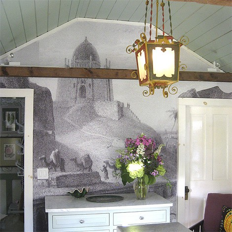 Custom mural removable wallcoverings by Casart Coverings