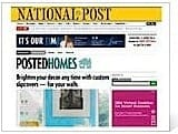 National Post Brighten Your Decor Casart coverings press
