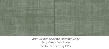 Casart MDD Mary Douglas Drysdale Signature Color Folly Gray Faux Linen 10x