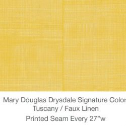 Casart MDD Mary Douglas Drysdale Signature Color Tuscany Casart Faux Linen 2x